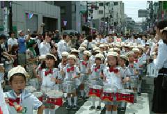菖蒲祭りパレード